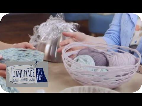 Schüssel Aus Wolle | Handmade Mit Enie - Mach's Einfach Selbst | Taff