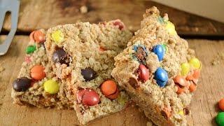 Peanut Butter M&m Bars Recipe - Monster Cookies Bar | Radacutlery.com