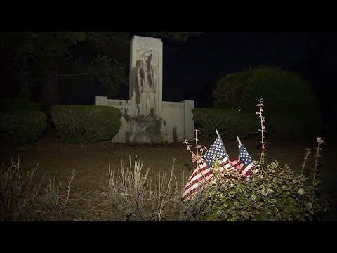 Monuments at Mount Hope Cemetery vandalized with oil