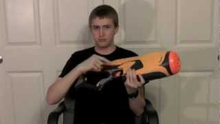 [REVIEW] Nerf Dart Tag Swarmfire - Unboxing, Review, & Firing Test