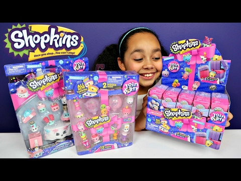 Surprise Shopkins Season 7 Topkins Mystery Blind Bags Full Case - 12 Pack Wedding Party Collection