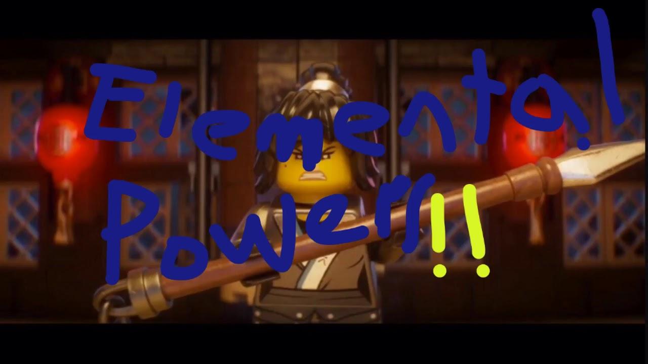 lego ninjago movie elemental powers confirmed youtube