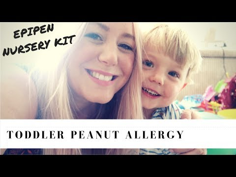 Peanut Allergy Symptoms & Treatment for a Toddler | SJ Strum