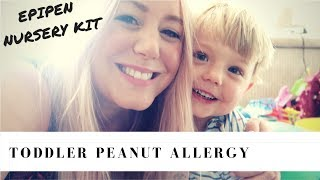 Peanut Allergy Symptoms & Treatment for a Toddler | SJ Strum