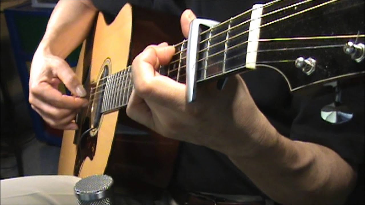 Fireflies Owl City Cover Fingerstyle Chords A Bit Of Vocal