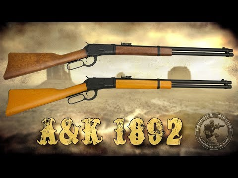 [Review] A&K Winchester 1892 NBB inkl. Demontage/Montage - 6mm Airsoft/Softair - 4K UHD