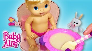 Baby Alive Doll Feeding and Potty Training Routine