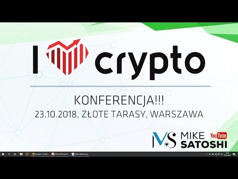 2018 .10.16 - I Love Crypto - konferencja