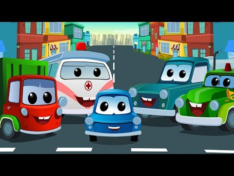 Zeek And Friends | Street Vehicle | Video For Kids And Babies | Video For Toddlers