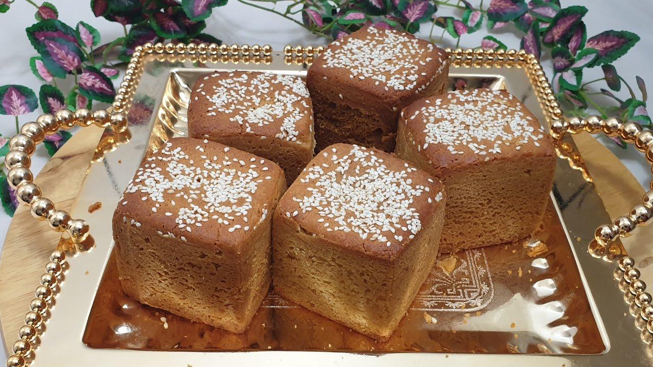 تهیه کاپ کیک عربی با ارد ذرت، خیلی ساده و خوشمزه || Arabic Cupcake + English Sub