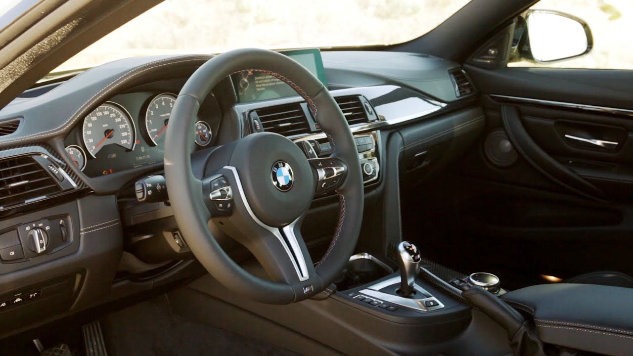 2014 Bmw M4 Coupe Interior Youtube