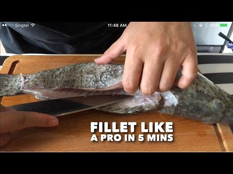 Secret Revealed! Pros Do This To Debone A Fish In 5 Mins! How To Easily Fillet A Fish?