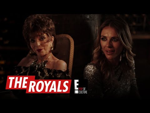 Joan Collins Makes Grand Duchess Return on