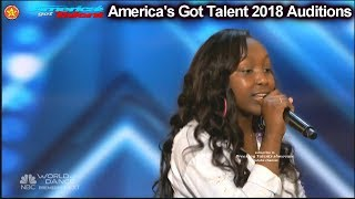 Flaujae 14 yo Rapper Simon says THE BEST America's Got Talent 2018 Auditions S13E01