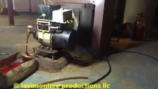 beckett oil burner making whining noise