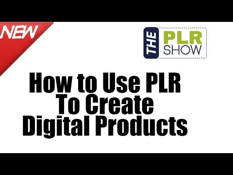 How to Use PLR To Create Digital Products - Weekend Q and A