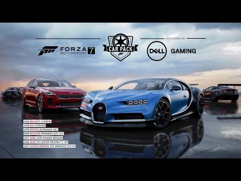 Forza Motorsport 7 - 2018 Bugatti Chiron Trailer (Dell Gaming Car Pack)