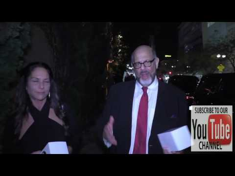 Fred Melamed talks about men wearing women's deoterant outside Lure Nightclun in Hollywood