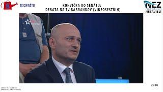 KONVIČKA do SENÁTU: Debata na TV Barrandov (videosestřih)