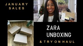 ZARA SALE UNBOXING & TRY ON HAUL | INSPIRED BY IDA |