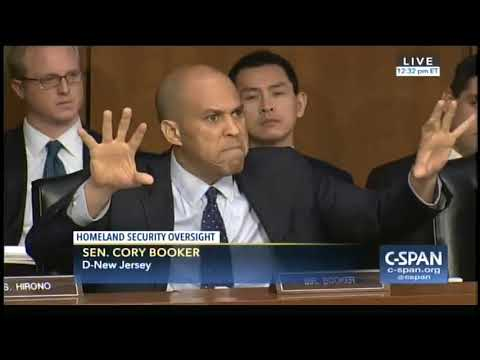 Cory Booker explodes at hearing over Trump's reported 's---thole' comments: I had 'tears of rage'