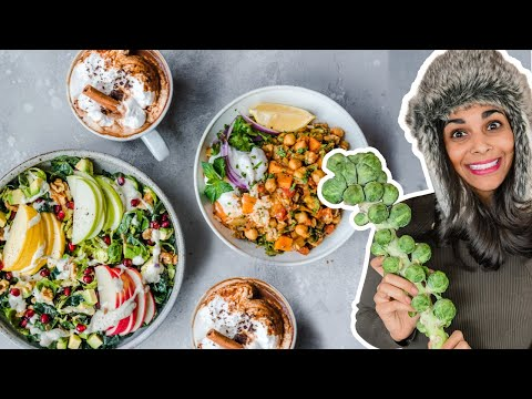 WHAT I EAT TO STAY HEALTHY DURING WINTER | easy + vegan