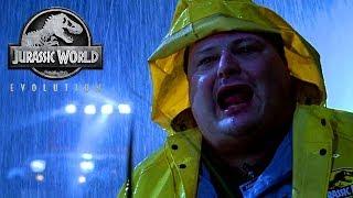 Jurassic World Evolution! Crazy Storms On Isla Muerta! Episode 7