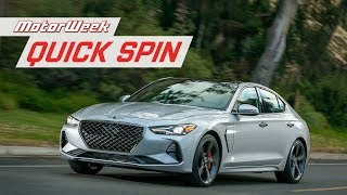 2019 Genesis G70 | Quick Spin