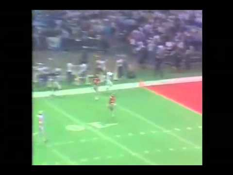 "Gregg Garrity ""The Catch"" Penn State 1983 Sugar Bowl"