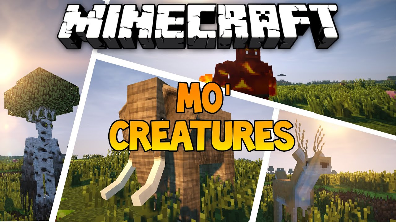 Mo'Creatures Mod Minecraft PE for Android - APK Download