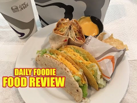 Taco Bell $5 Cravings Deal Review - Box Deal Value Meal Unwrapping #foodreview
