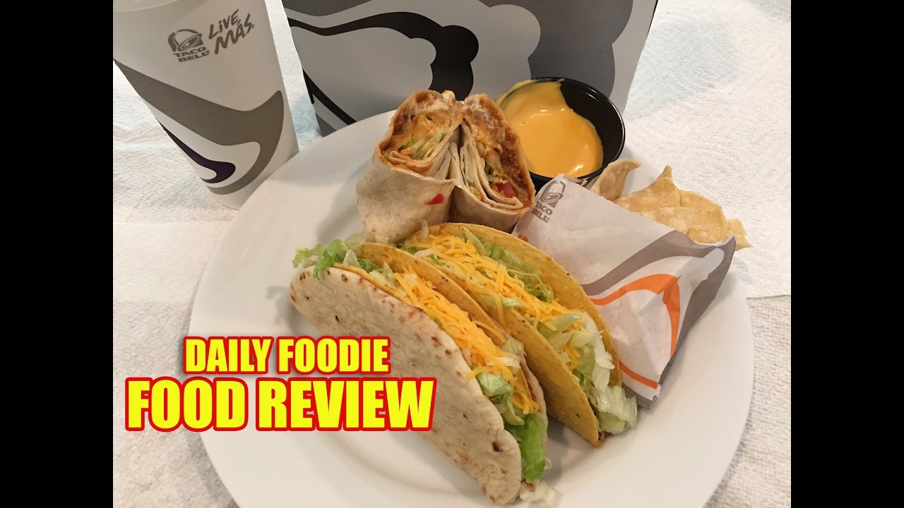 Taco Bell 5 Cravings Deal Review Box Deal Value Meal