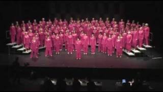 Greater Auckland Chorus - How Many Hearts Have You Broken?