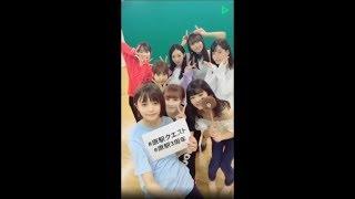 20180806 原宿駅前パーティーズLINE LIVE「突撃!隣のリハーサル☆〜ねぇ...
