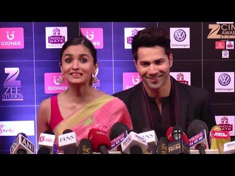 Varun & Alia's CUTE Reaction On Success Of Badrinath Ki Dulhania Movie
