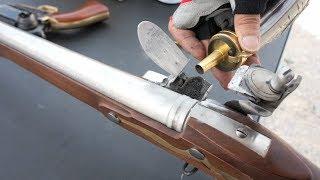 実弾射撃 ブラウンベス .75口径 マスケット銃 (Musket Brown Bess)