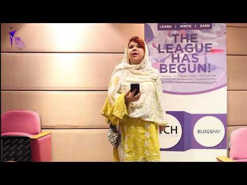 Miss Marvi from Roshan Academy Karachi