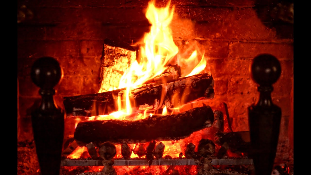 3 hours best fireplace hd video relaxing fireplace sound