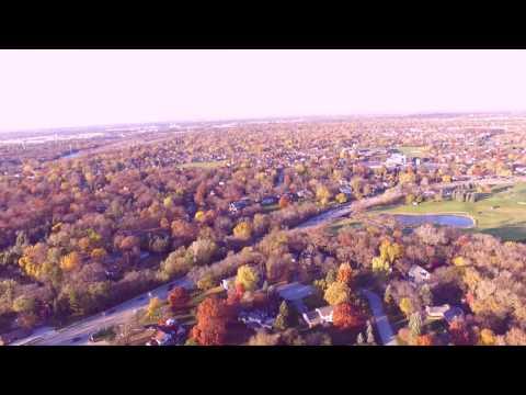 Flying Phantom 3 around Oswego, IL
