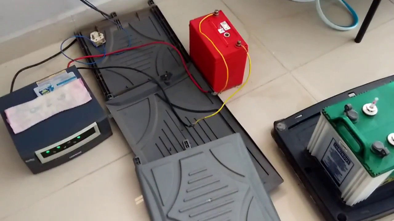 How to charge a car battery in home