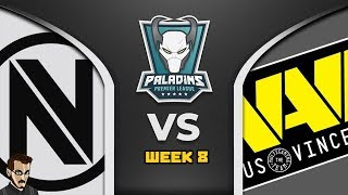 Super Match : PPL Week 8 - Team EnVy Vs Natus Vincere (Paladins FR)