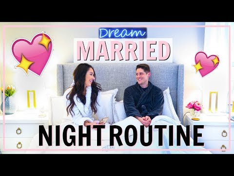 MARRIED NIGHT ROUTINE 2019 COUPLE EVENING ROUTINE | Alexandra Beuter