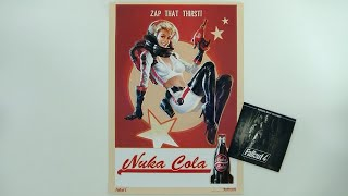 Fallout 4 Nuka Cola Poster Soundtrack CD