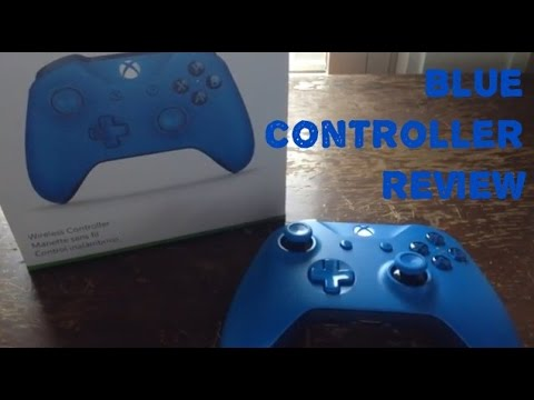 Xbox One S blue controller review - YouTube