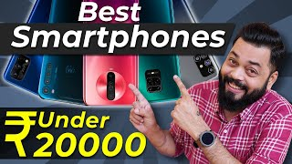 Top 5 Best Smartphones Under ₹20000 Budget ⚡⚡⚡September 2020