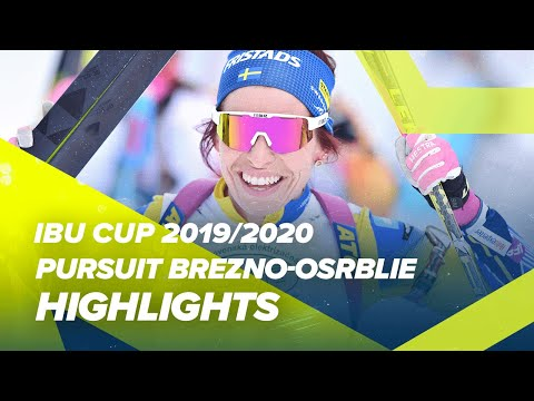 Brezno-Osrblie Highlights Women Pursuit IBU Cup 2019/2020