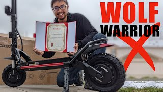 We found some issues unboxing our 2021 Wolf Warrior X
