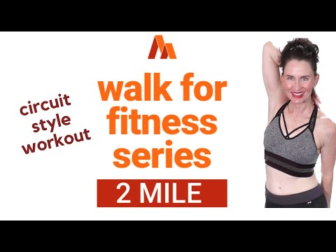 60 MINUTE WORKOUT | POWER WALK 2 MILES CIRCUIT STYLE | WALK FOR WEIGHT LOSS | INDOOR WALKING |AFT