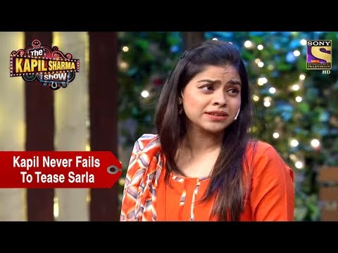 Kapil Never Fails To Tease Sarla - The Kapil Sharma Show
