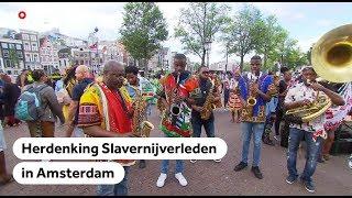 KETI KOTI: Zo werd slavernij herdacht in Amsterdam
